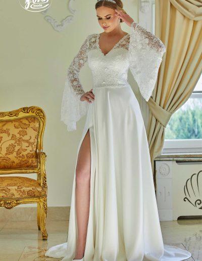 Collection robe mariée 2021 boutique Nièvre Elie Pour Elle