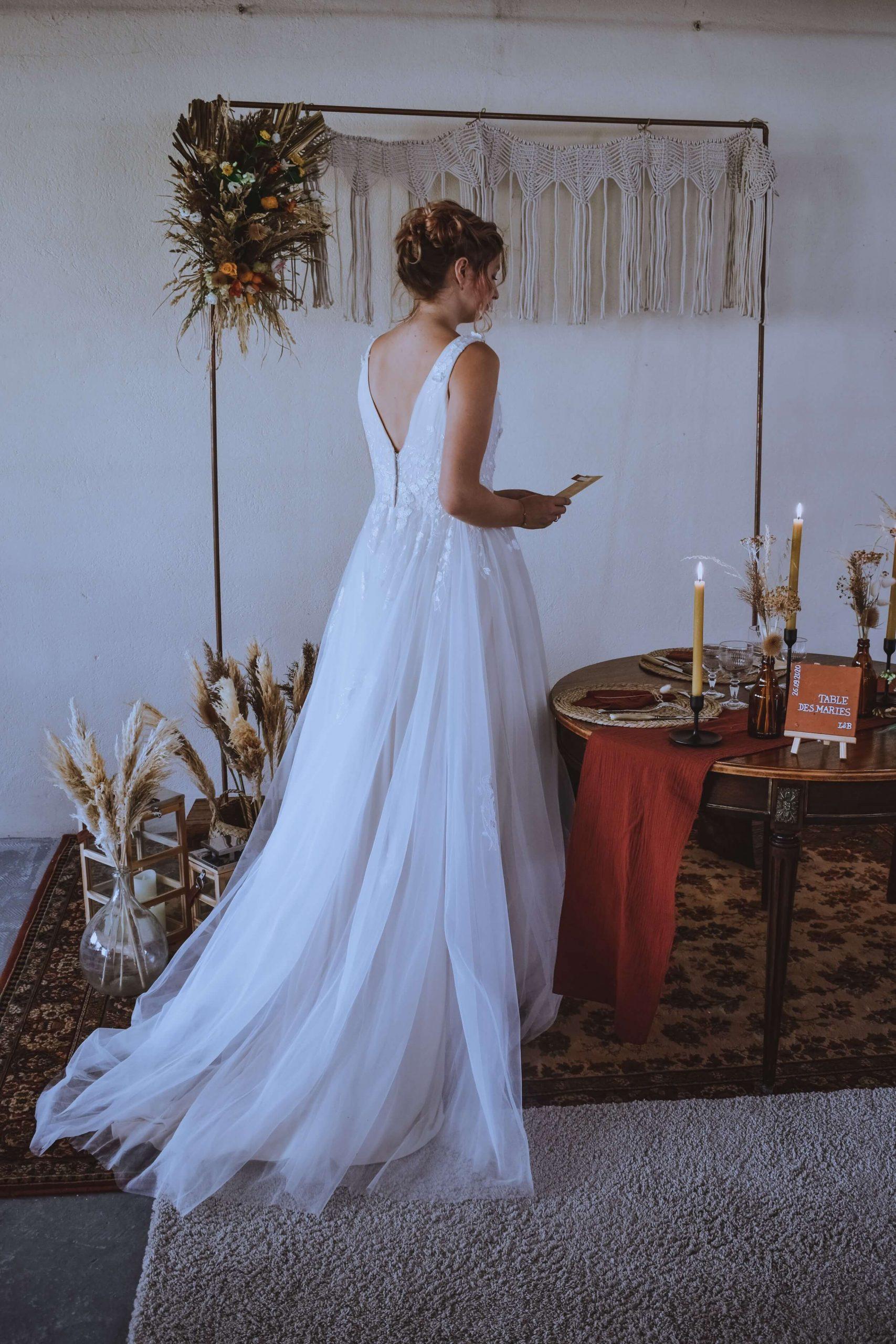 Shooting mariage Manon Pilorge Camandco events boutique Elie Pour Elle